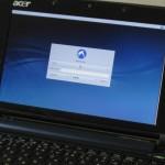 Lubuntu12.10ログイン画面