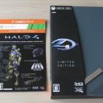 Halo4リミテッドエディションのパッケージ
