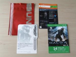 Halo4リミテッドエディションの同梱物2