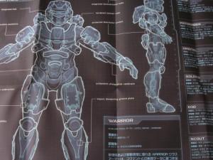 Halo4リミテッドエディションの同梱物4