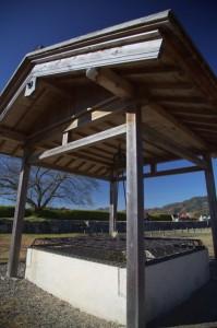 篠山5-篠山城跡の復元された井戸