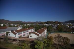 篠山7-天守台からみた周辺の景色